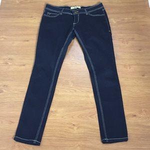 tyte Denim Blue Jeans Straight Leg Size 9